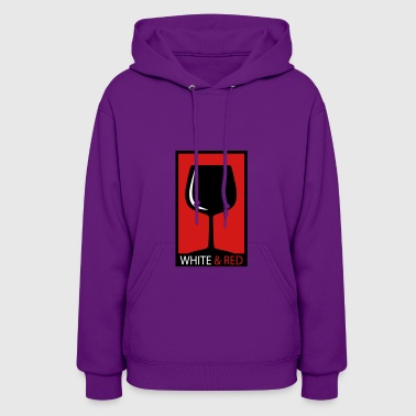 wine glass - Women's Hoodie