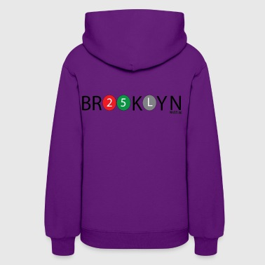 Brooklyn Design Black Text - Women's Hoodie