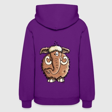 Funny Giant Mammoth - Elephant - Women's Hoodie