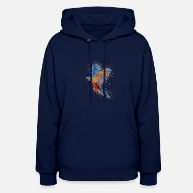 Colourful Colourful Peacock - Women's Hoodie