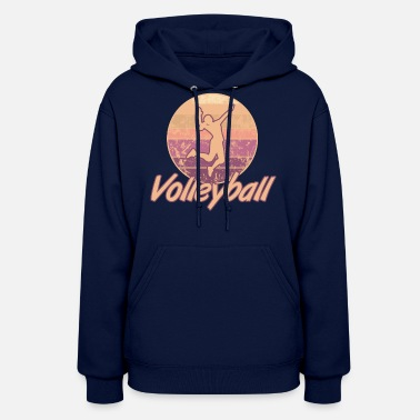 Womens Volleyball Volleyball Women - Women's Hoodie