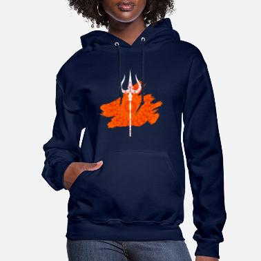 Shiva Spear Yoga and Om Gift Ideas - Women's Hoodie