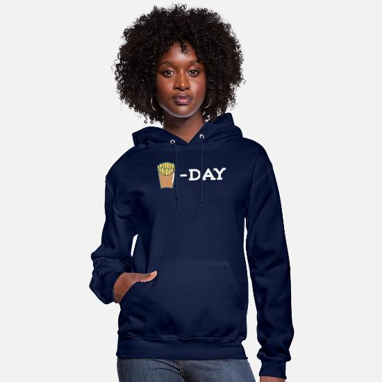 Lunch Hoodies & Sweatshirts - French Fries Day - Women's Hoodie navy
