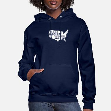 Black Lives Make Racism Wrong Again BLM - Women's Hoodie