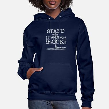 Stand STAND WITH STANDING ROCK - Women's Hoodie
