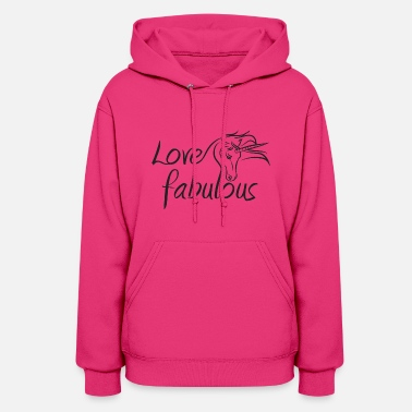 Unicorn (Love fabulous) - Women's Hoodie