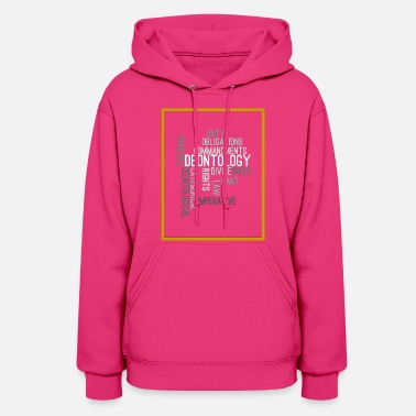 Ethical ethics quotes - Women's Hoodie