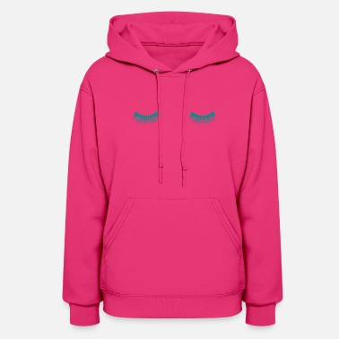 Eye Lashes Eye Lashes - Women's Hoodie