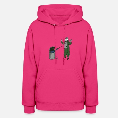 Trash Can Trash can - Women's Hoodie