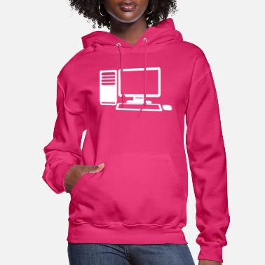 Computer Game Computer Gaming - Women's Hoodie