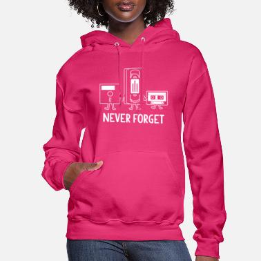 Never Forget Funny - Women's Hoodie