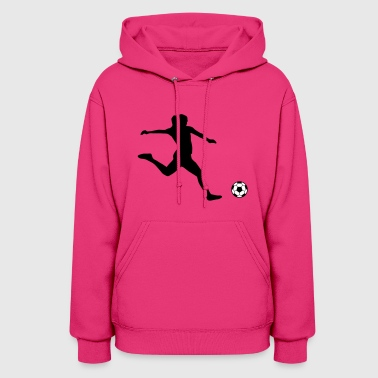 Women's Soccer, football - Women's Hoodie