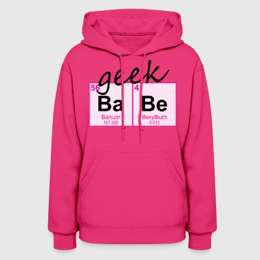 Periodic Table Geek BaBe - Women's Hoodie