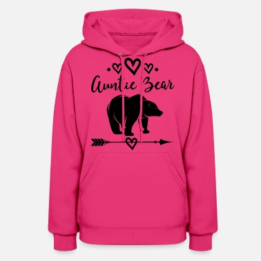 Bear Auntie Bear Gift For Aunt - Women's Hoodie