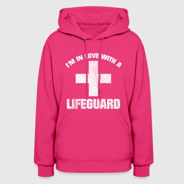 IN LOVE WITH A LIFEGUARD COOL AND CUTE GIFT IDEA - Women's Hoodie