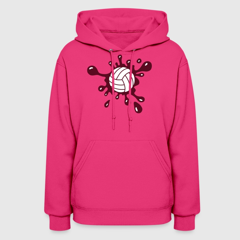 Volleyball Splash - Women's Hoodie