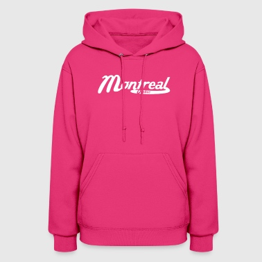Montreal Quebec Canada Vintage Logo - Women's Hoodie