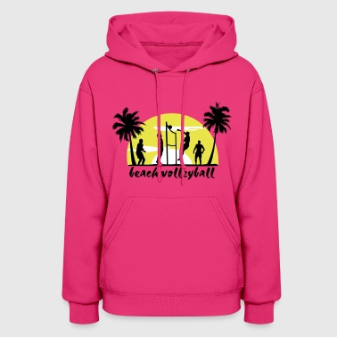 beach volleyball - Women's Hoodie
