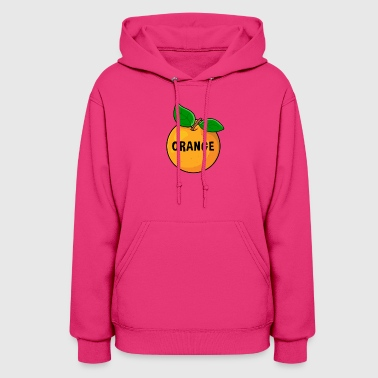 orange fruit snacks healthy gift idea - Women's Hoodie