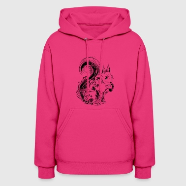 Acorn A squirrel with acorn - Women's Hoodie