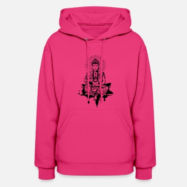 Lotus Position Buddha in the lotus position - Women's Hoodie