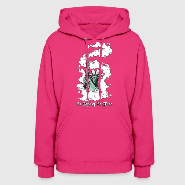 Amercia - the Land of the Free - Cannabis - Women's Hoodie
