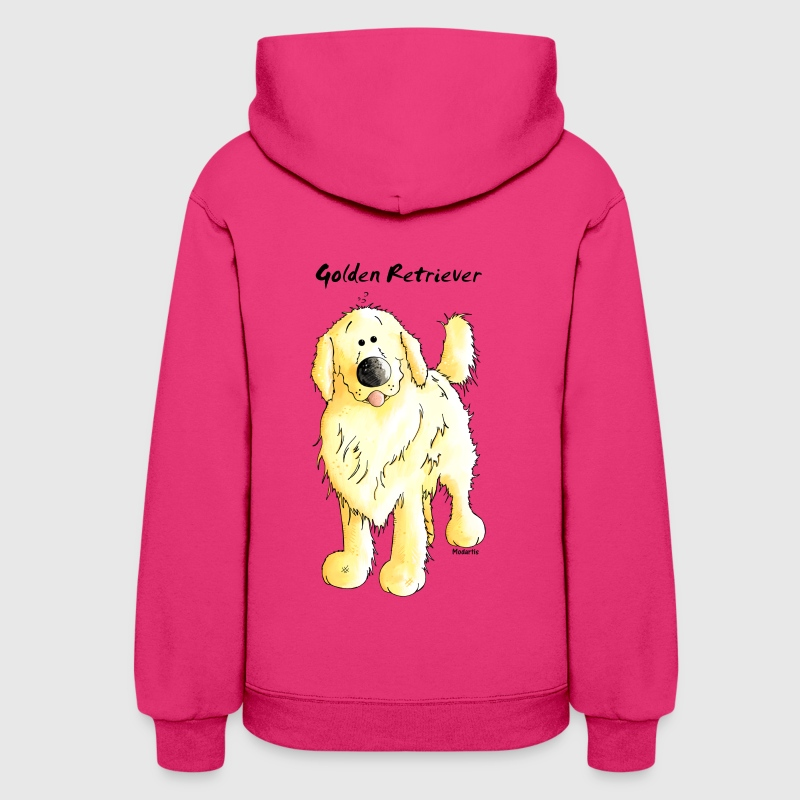 Cute Golden Retriever - Women's Hoodie