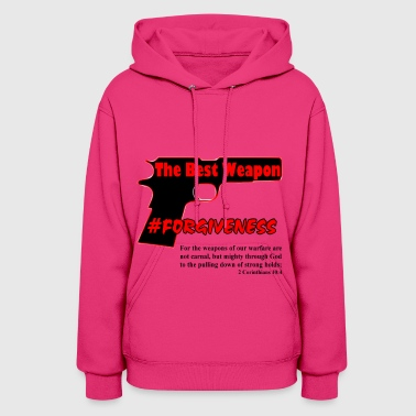 Forgiveness Black & Red - Women's Hoodie