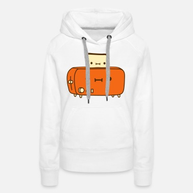 Toast toaster and bread friends with - Women's Premium Hoodie