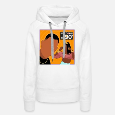 Welcome Welcome to the 90's (Martin) - Women's Premium Hoodie