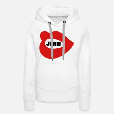 My Name Is ❤✦I Love James-Sending James Kisses✦❤ - Women's Premium Hoodie