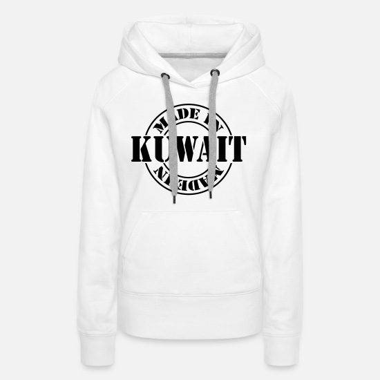 Country Hoodies & Sweatshirts - made in kuwait m1k2 - Women's Premium Hoodie white