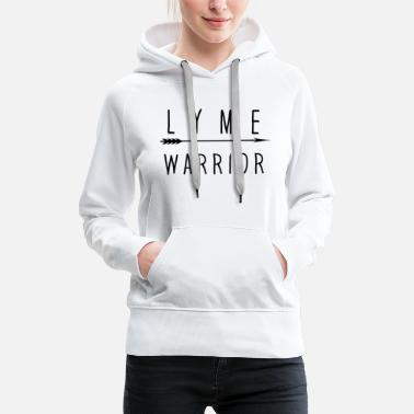 Warrior Square Lyme Warrior Black - Women's Premium Hoodie