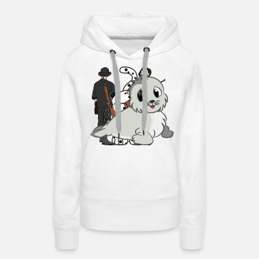 Confirmation Baby seal drawing - Women's Premium Hoodie