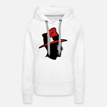 Fear Horror mummy hat - Women's Premium Hoodie