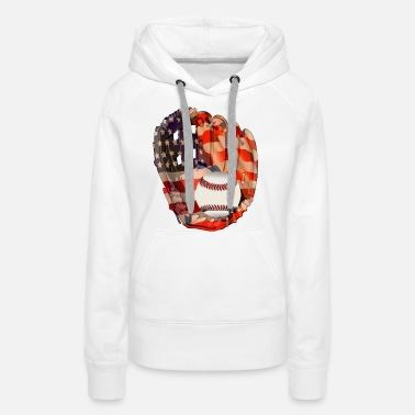 Baseball Player Baseball - Women's Premium Hoodie