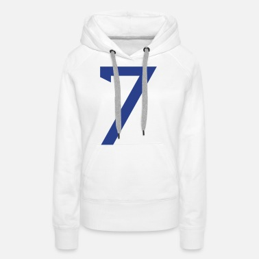 Jersey Number ★Cool Number Seven 7-Best Uniform Number-7★ - Women's Premium Hoodie