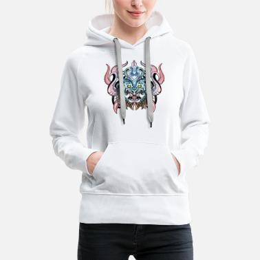 indonesian demon - Women's Premium Hoodie