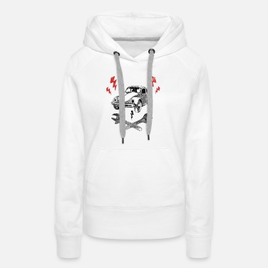 Old But Gold Vintage Car - Women's Premium Hoodie