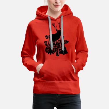 Movies Jingle All The Way - Women's Premium Hoodie