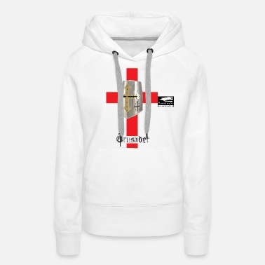 Middle Age crusader_red - Women's Premium Hoodie