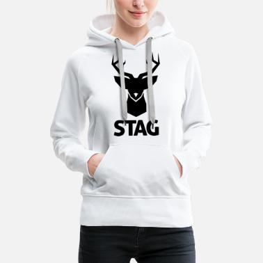 Stag stag - Women's Premium Hoodie