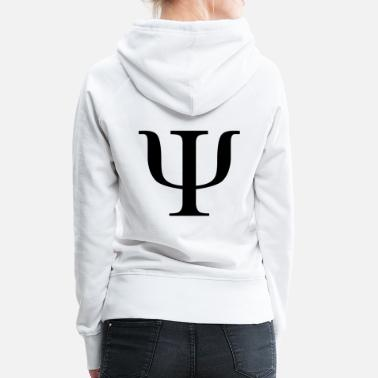 Psychology 2000px-Psi2.svg.png - Women's Premium Hoodie
