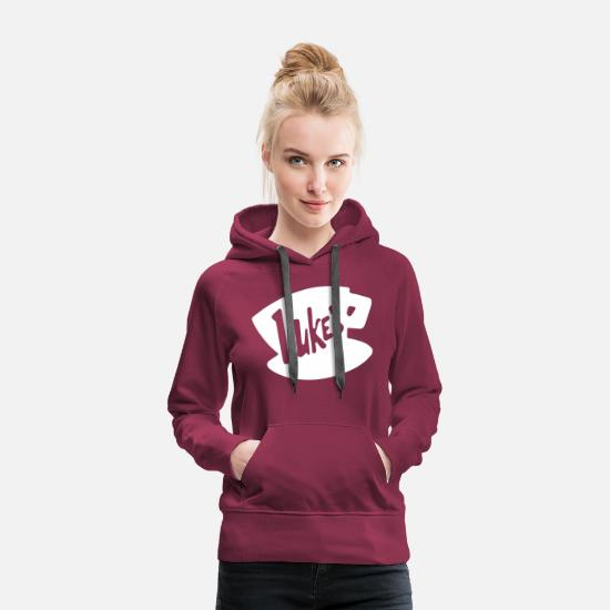 Rory Hoodies & Sweatshirts - Lukes Stars Hollow Connecticut - Women's Premium Hoodie burgundy