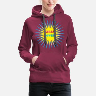 Powerslogan girls power - Women's Premium Hoodie