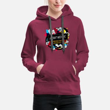 NOBODY KNOW WHAT I DO UNTIL I DON'T DO IT - AIRCRA - Women's Premium Hoodie