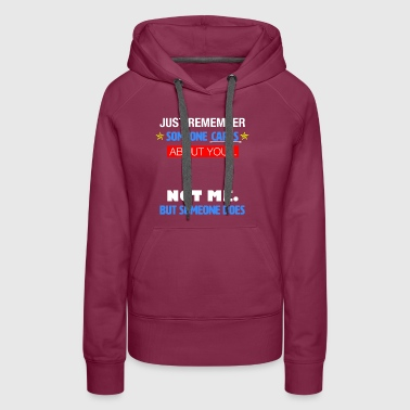 Someone Cares - Women's Premium Hoodie