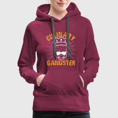 Culinary Culinary Gangster - Women's Premium Hoodie