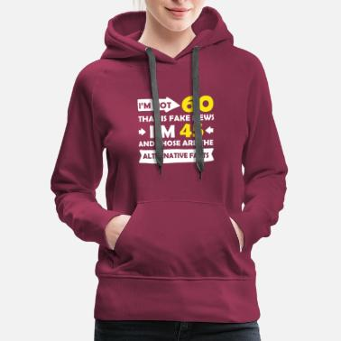 60th Birthday Funny 60th Birthday Designs - Women's Premium Hoodie