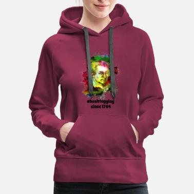 Hashtagging Since 1764 | Sharp Classical Music - Women's Premium Hoodie
